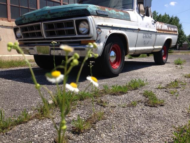 truck-flower